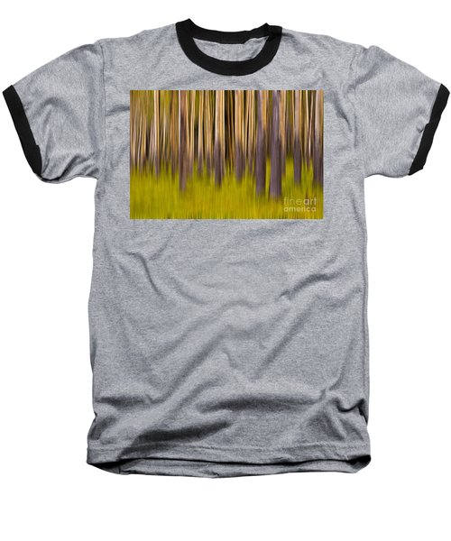 Baseball T-Shirt featuring the digital art Trees by Jerry Fornarotto