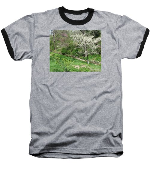 Trees Of Early Spring Baseball T-Shirt