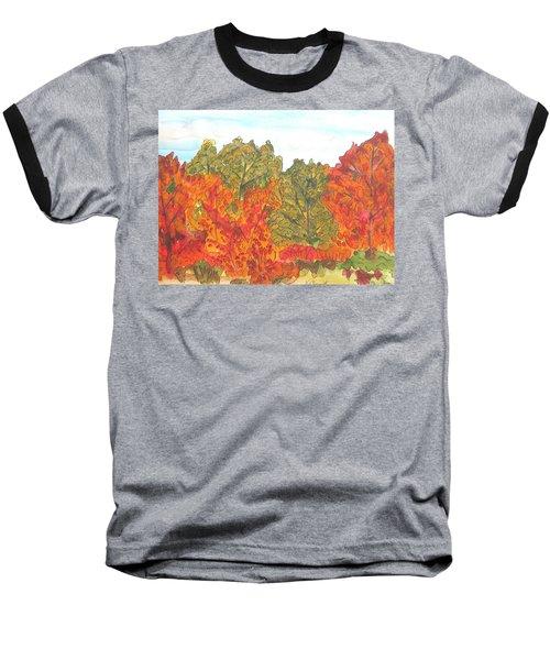 Trees Of Fall Baseball T-Shirt