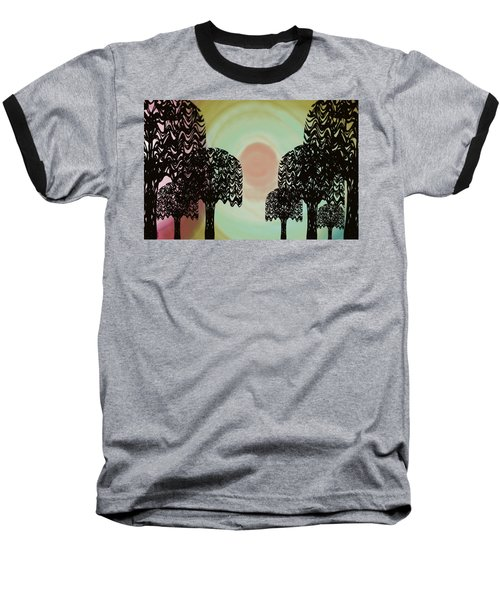 Trees Of Light Baseball T-Shirt