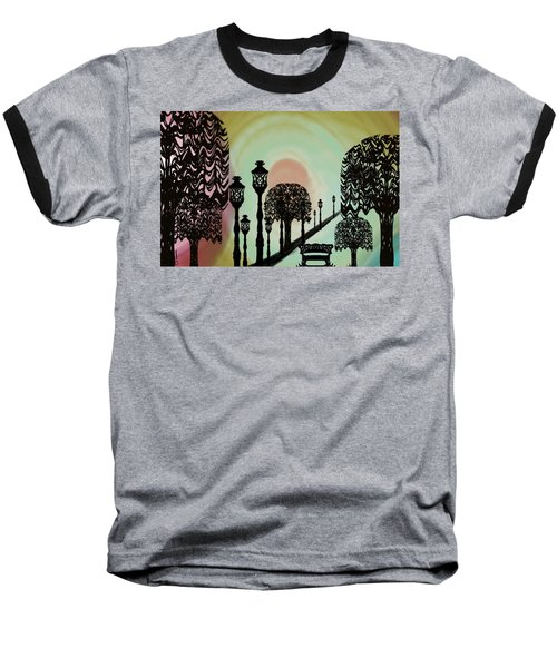 Trees Of Lights Baseball T-Shirt