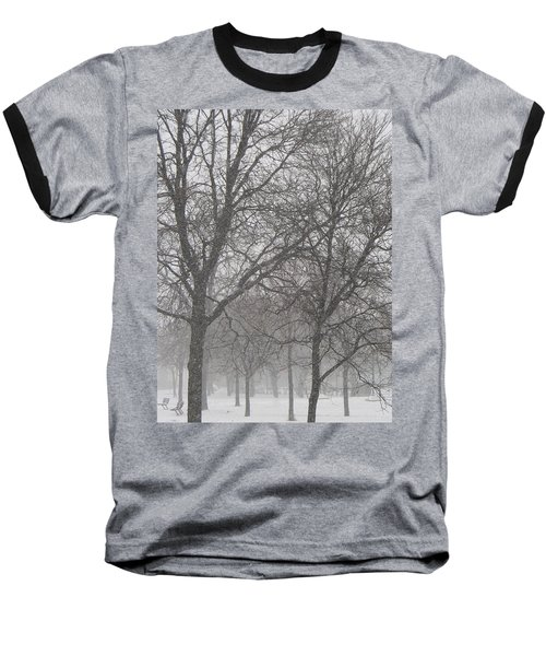 Trees Of Silence Baseball T-Shirt
