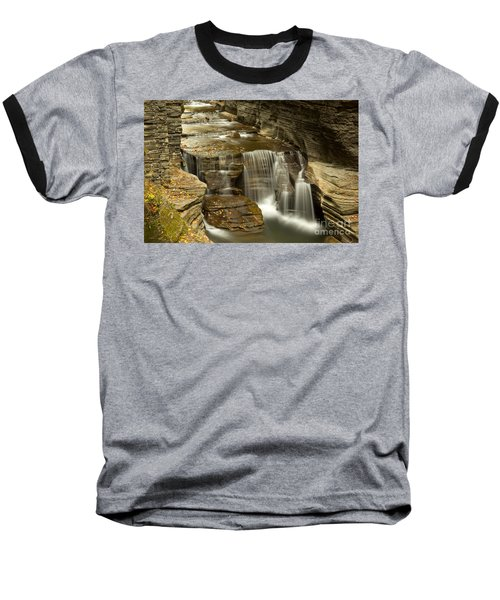 Treman At Dusk Baseball T-Shirt