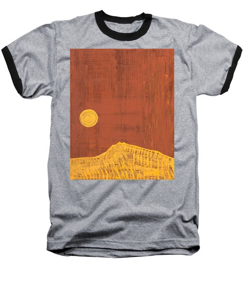 Tres Orejas Original Painting Baseball T-Shirt by Sol Luckman