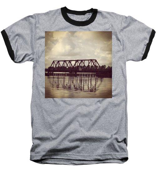 Trestle On The Pamlico River Baseball T-Shirt