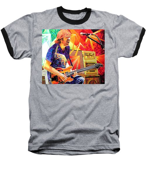 Trey Anastasio Squared Baseball T-Shirt by Joshua Morton