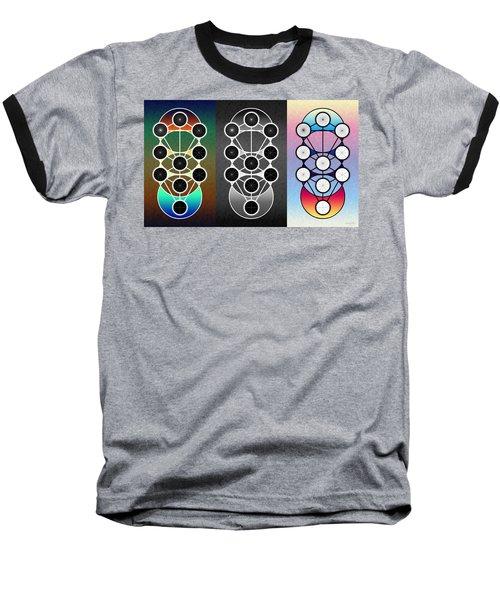 Tri-kabalah Chart Baseball T-Shirt