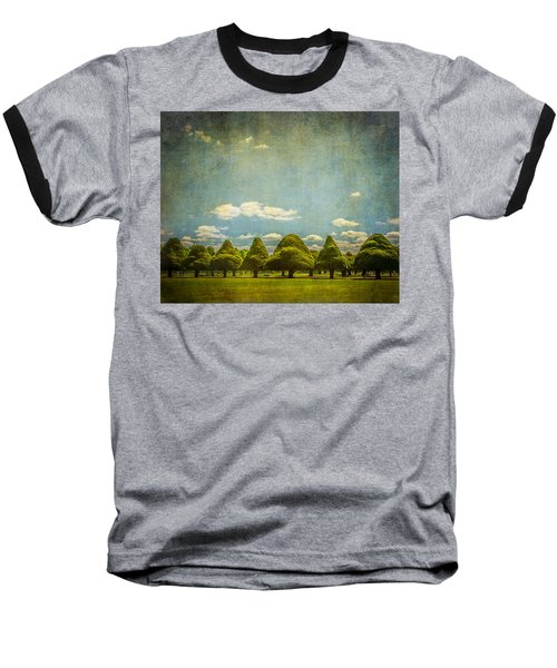 Triangular Trees 003 Baseball T-Shirt