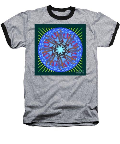 Tribal Hunt And Blessing Baseball T-Shirt