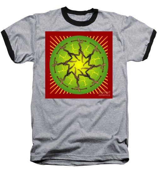 Tribal Warriors Baseball T-Shirt