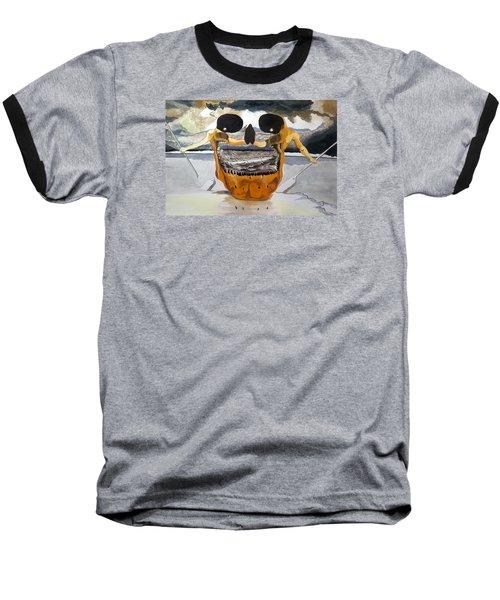 Tribulation Baseball T-Shirt by Lazaro Hurtado