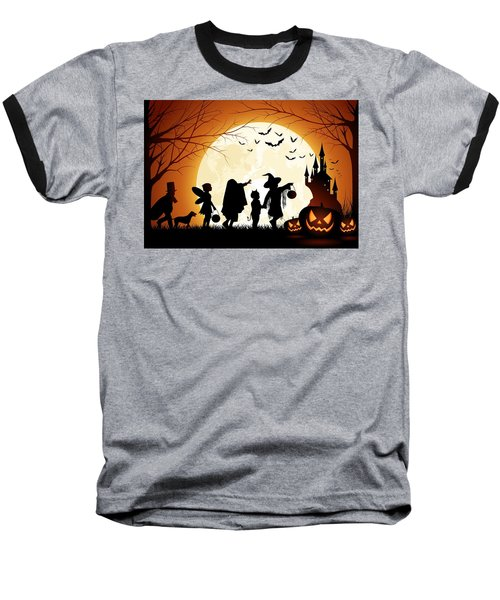 Trick Or Treat Baseball T-Shirt