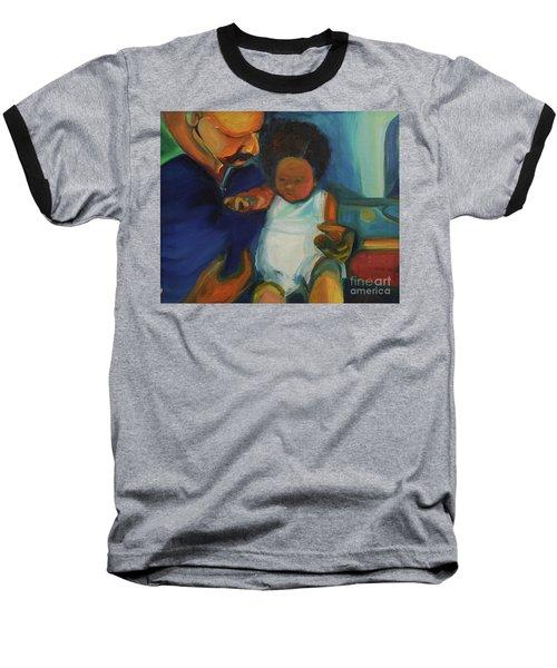 Trina Baby Baseball T-Shirt by Daun Soden-Greene