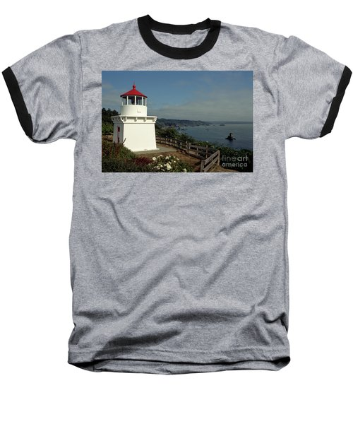 Trinidad Light Baseball T-Shirt by Sharon Elliott