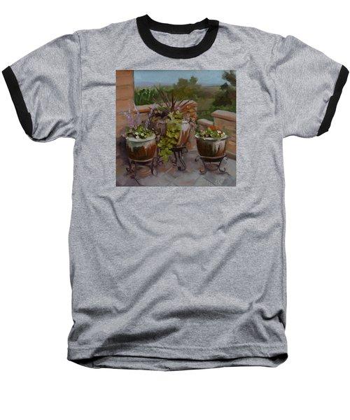 Trio Baseball T-Shirt by Pattie Wall