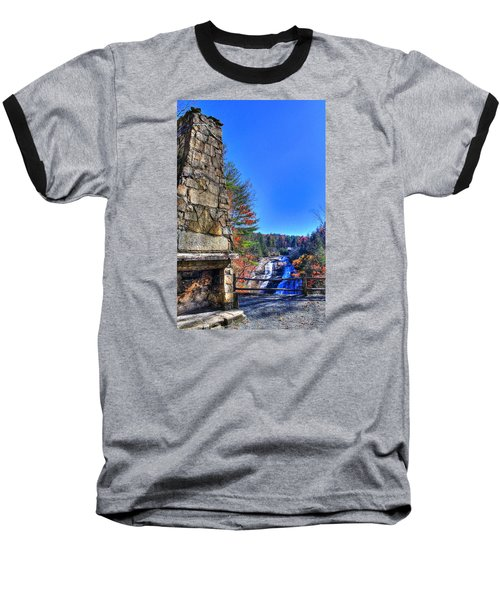 Triple Falls 2 Baseball T-Shirt
