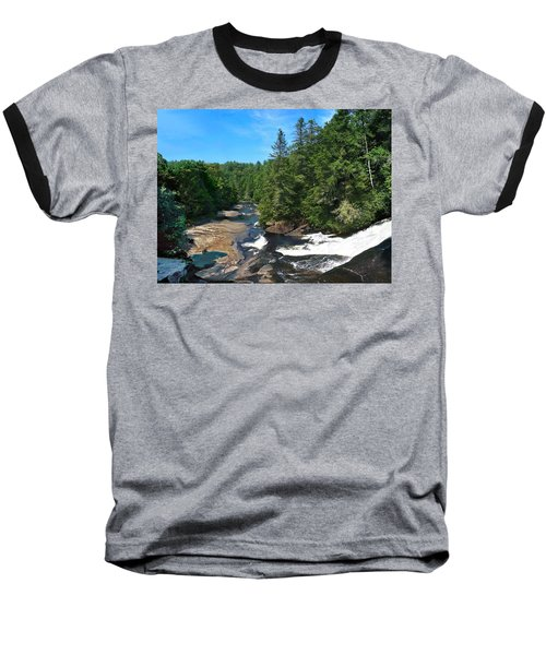 Triple Falls North Carolina Baseball T-Shirt