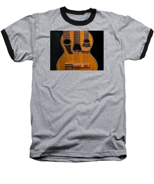 Baseball T-Shirt featuring the photograph Triple-neck Instrument by Glenn DiPaola