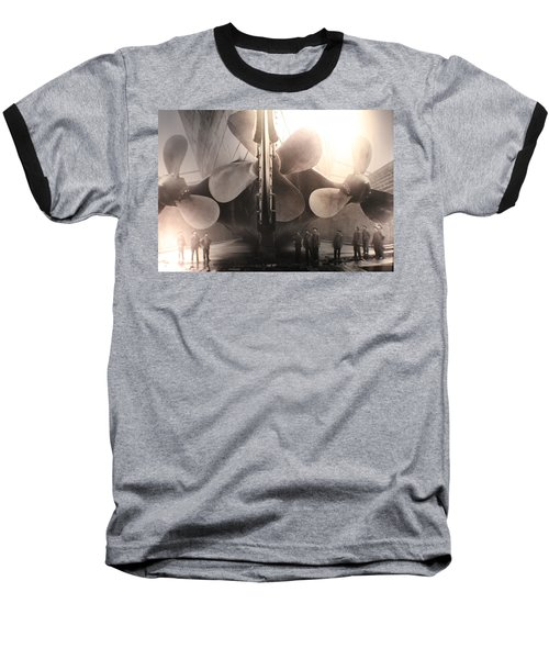 Triple Screws Baseball T-Shirt