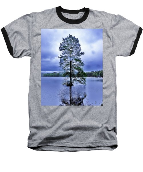 The Healing Tree - Trap Pond State Park Delaware Baseball T-Shirt