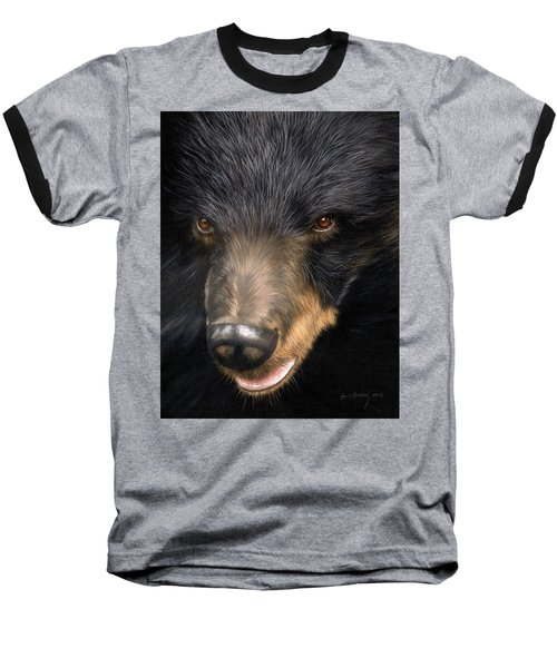 Trixie Moon Bear - In Support Of Animals Asia Baseball T-Shirt