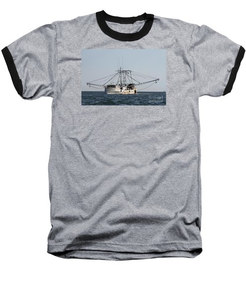 Baseball T-Shirt featuring the photograph Troller To Port by John Telfer