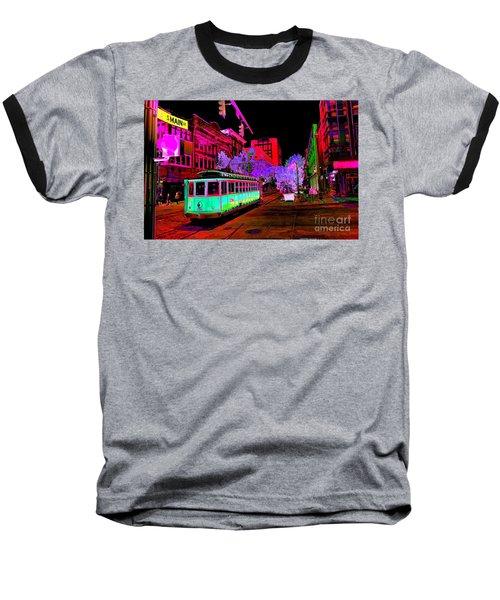 Trolley Night Baseball T-Shirt