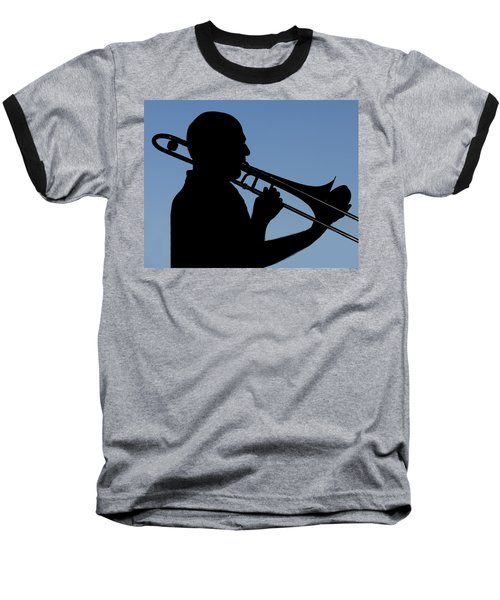 Trombone Player Baseball T-Shirt