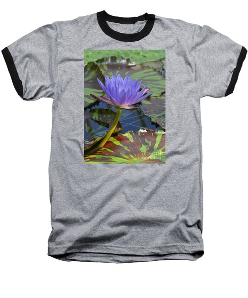 Baseball T-Shirt featuring the photograph Tropic Water Lily 15 by Rudi Prott