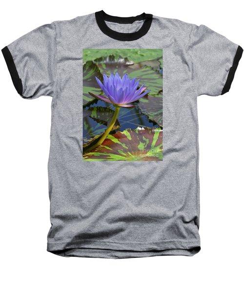 Tropic Water Lily 15 Baseball T-Shirt by Rudi Prott