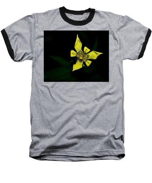 Baseball T-Shirt featuring the photograph Tropic Yellow by Miguel Winterpacht