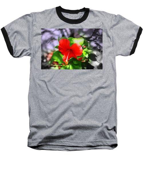 Tropical Burst Baseball T-Shirt