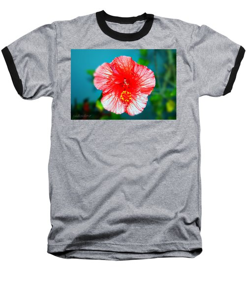 Tropical Burst Redux Baseball T-Shirt