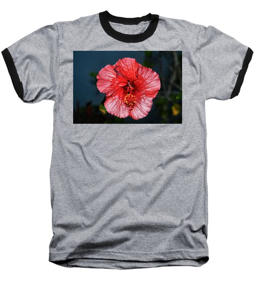 Tropical Burst Subdued Baseball T-Shirt