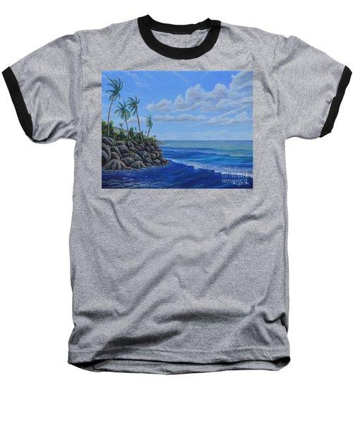Tropical Day Baseball T-Shirt