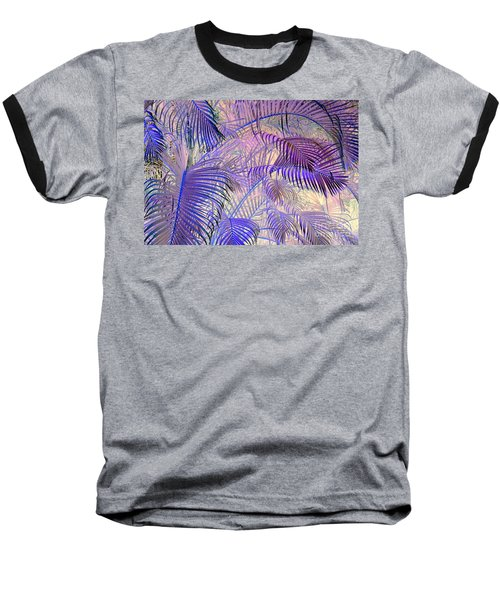 Tropical Embrace Baseball T-Shirt by Roselynne Broussard