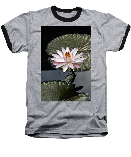 Tropical Floral Elegance Baseball T-Shirt