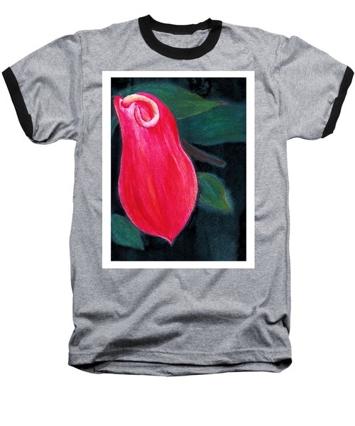 Tropical Flower 2 Baseball T-Shirt by C Sitton