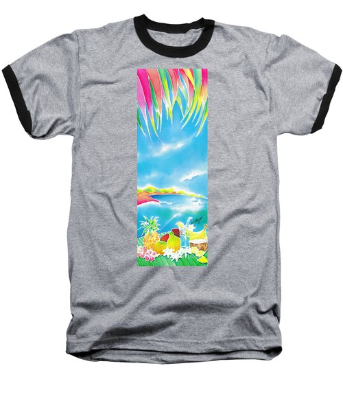 Tropical Fruits Baseball T-Shirt