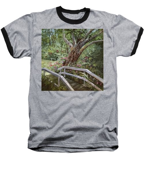 Tropical Garden Baseball T-Shirt