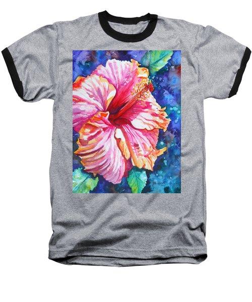 Tropical Hibiscus 4 Baseball T-Shirt