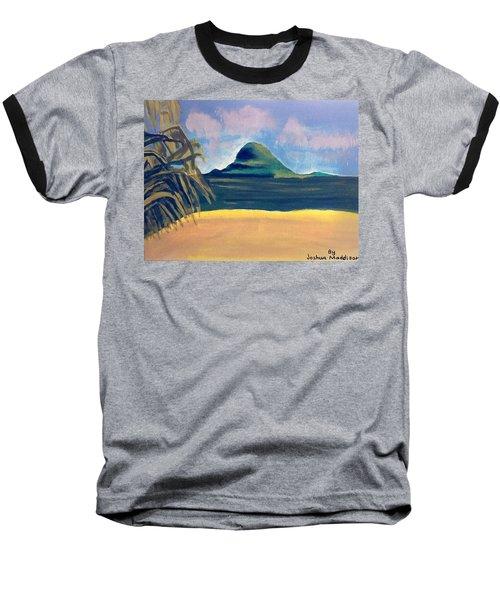 Paradise  Baseball T-Shirt by Joshua Maddison