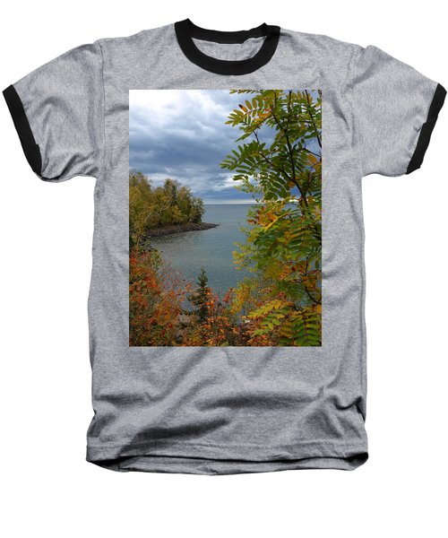 Tropical Mountain Ash Baseball T-Shirt