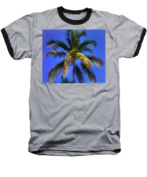 Tropical Palm Trees 8 Baseball T-Shirt