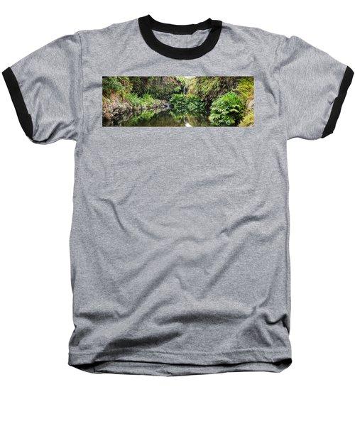 Tropical Reflections Baseball T-Shirt