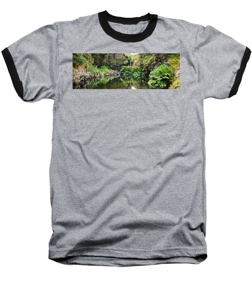 Tropical Reflections Baseball T-Shirt