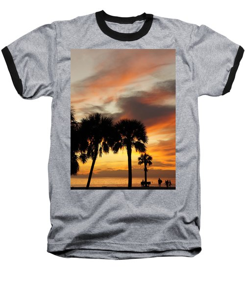 Tropical Vacation Baseball T-Shirt