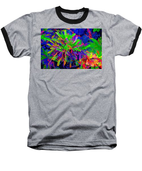 Baseball T-Shirt featuring the photograph Tropicals Gone Wild by David Lawson