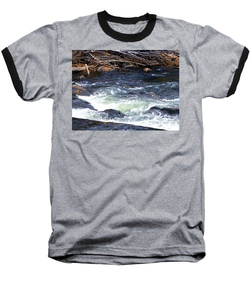 Baseball T-Shirt featuring the photograph Trout River by Jackie Carpenter