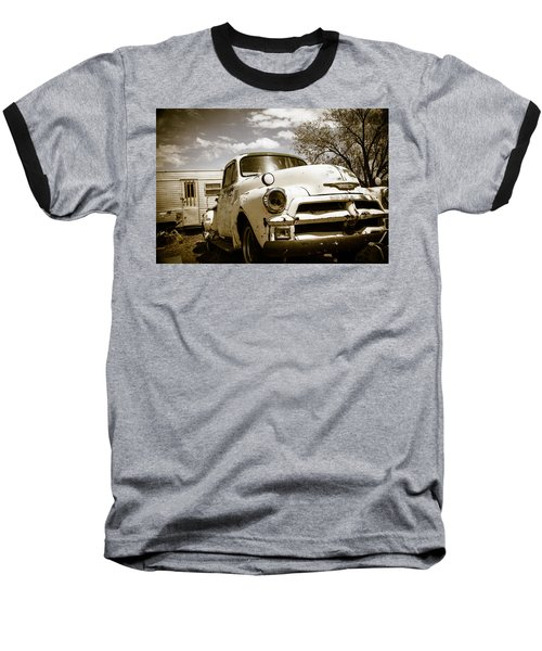 Baseball T-Shirt featuring the photograph Truck And Trailer by Steven Bateson